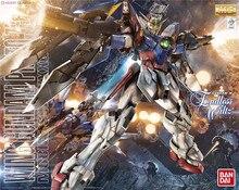 Bandai Gundam MG 1/100 כנף אפס EW נייד חליפת להרכיב דגם ערכות פעולה דמויות פלסטיק דגם צעצועים