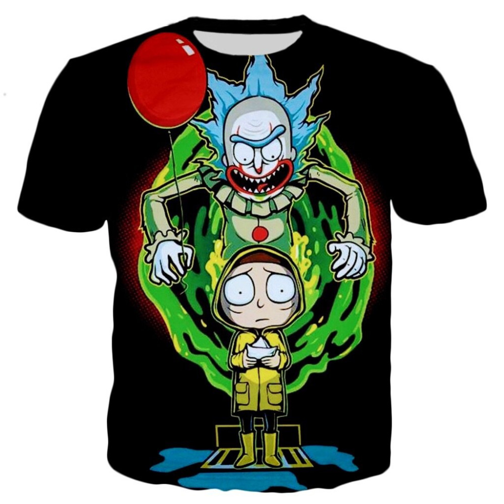 6d90ab16a 2018 RICK AND MORTY MR MEESEEKS T SHIRT Prined 3D T SHIRT Hip Hop  Fashion-in T-Shirts from Men's Clothing on Aliexpress.com | Alibaba Group