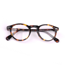2018 New Vintage Eyeglasses Frames OV5186 Gregory Peck Acetate Round Glasses Frame Men Women with Original Case