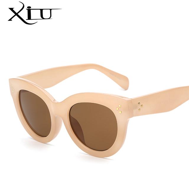 Mercedes XIU Pontos Moda Óculos De Marca óculos de Sol Das Mulheres de Grandes Dimensões Óculos De Sol Do Vintage Feminino Designer De Oculos De sol