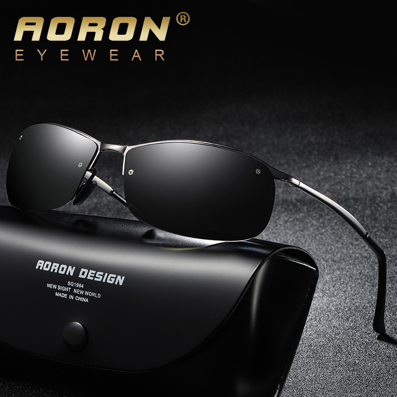 33abc6fdf1 Detail Feedback Questions about AORON 2018 New Photochromic Sunglasses Men  Driving Polarized Sun Glasses Chameleon Driver Safety Night Vision Goggles  ...