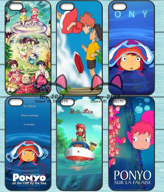 Studio Ghibli – Ponyo Phone Case For Samsung Galaxy S6 S7 Edge S8 Plus A3 A5 A7 J3 J5 J7 2015 2016 2017 J5 Prime