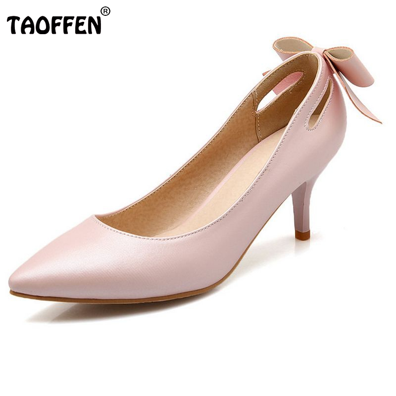 women thin heel shoes bowtie shallow mouth fashion ladies pumps high quality pointed toe high heel footwear 33-43 PA00026 2017 shoes woman fashion sweet bowtie pointed toe sexy women party shallow mouth side hollow women thin high heel shoes