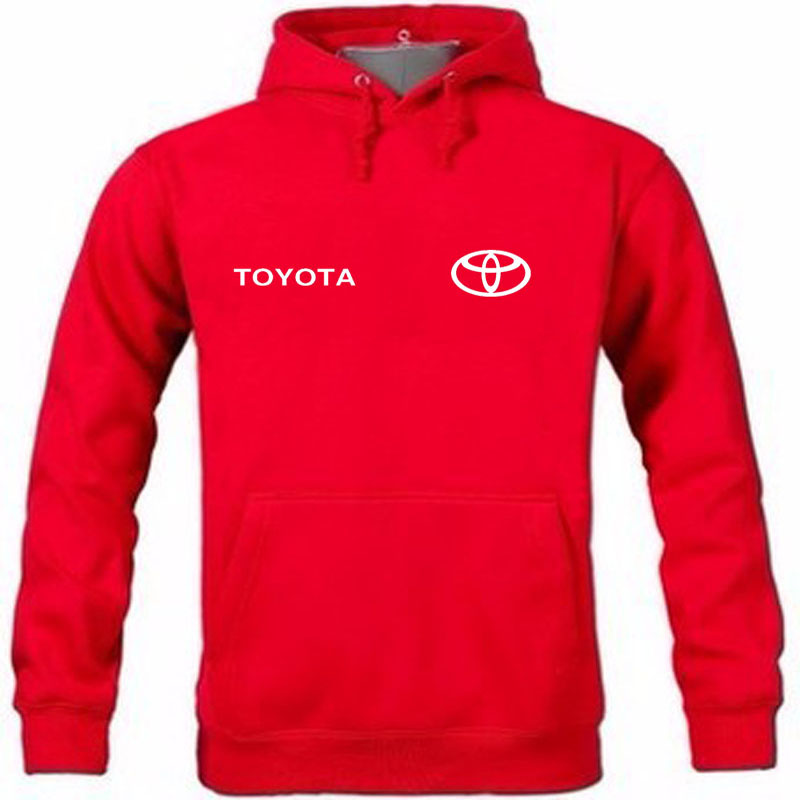 Autumn and winter New Arrival Toyota logo Printed pullover hoodie Sweatshirt Hooded Hoodies Pullover Hoody clothing