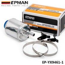 Серебро Jdm Алюминий гоночный усилитель руля жидкости резервуар зажимы EP-YX9461-1