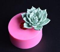 KLM Favorite Fleshy Flower Silicone Cake Decoration Chocolate Molds