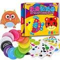Montessori Educacional DIY Brinquedos de Desenho Pintura Placa Brinquedos Criativos Coloridos CZ2448H Early Learning Brinquedos Para Presente Das Crianças