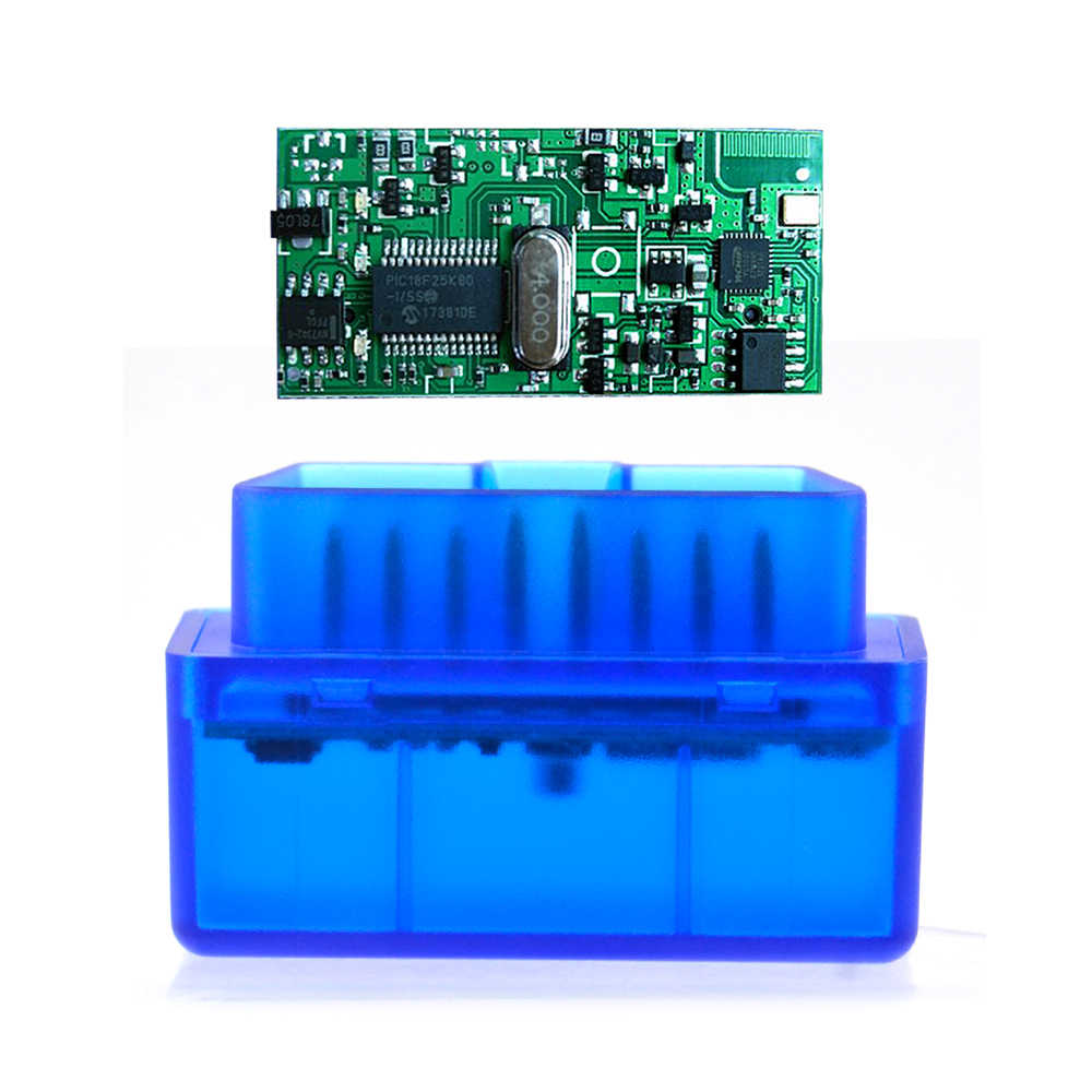 BluetoothV1.5 ELM327 Bluetooth Mini OBD2 Code Reader Scan Tool Bluetooth Interface Car Scanner Diagnostic-Tool OBDII for Android