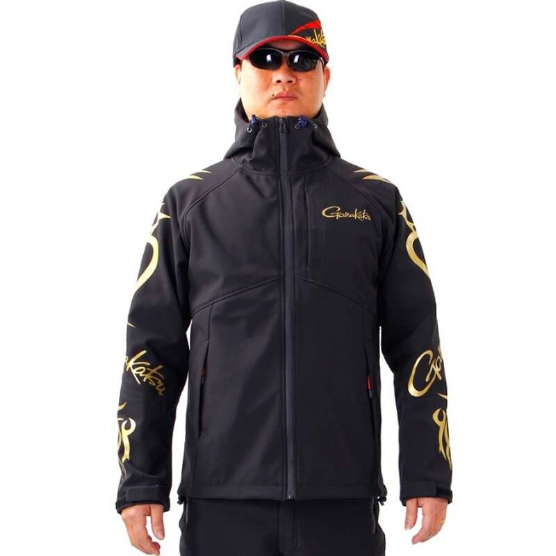 2018 automne et hiver nouveau Gamma Kazga Gamakatsu costume de pêche polaire chaud doux Shell veste imperméable