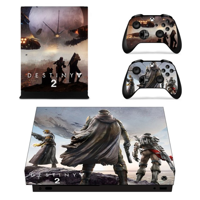 US $8 99 |Destiny 2 Full Faceplates Skin Console & Controller Decal  Stickers for Xbox One X Console + Controller Skin -in Stickers from  Consumer
