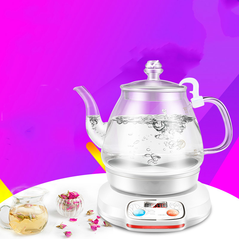 Electric kettle electric used heat power the glass Anti-dry Protection