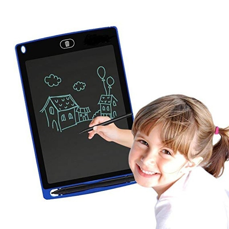 12 Inch Lcd Electric Writing Board Drawing Toys Portable Graphic Drawing Pad Doodle Board Kids Learning Toys For Children WJ123