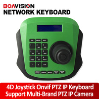 PTZ Network Keyboard Controller 4D 4 Axis RJ45 RS485 Use Joystick For CCTV PTZ Speed Dome