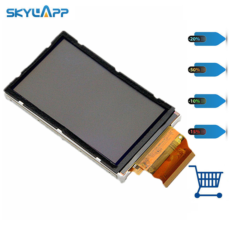 цена на Skylarpu 3 inch LCD panel For GARMIN OREGON 450 450t Handheld GPS LCD screen display (without touch) Free shipping