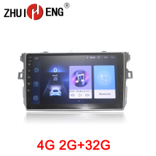 ZHUIHENG 2 din Car radio for TOYOTA COROLLA 2007-2011 car dvd player GPS navi accessories Auto with 2G+32G 4G internet