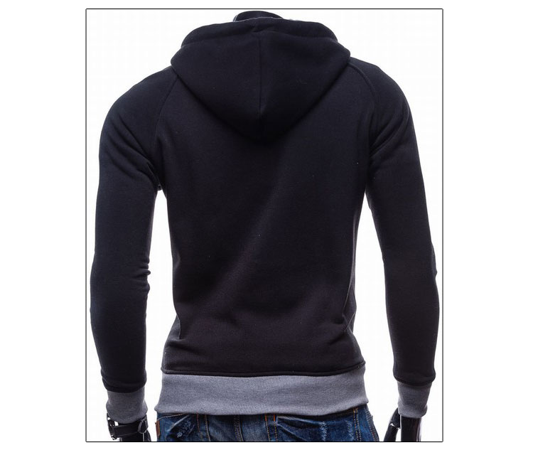 17 Hoodies Men Sudaderas Hombre Hip Hop Mens Brand Leisure Zipper Jacket Hoodie Sweatshirt Slim Fit Men Hoody XXL 6