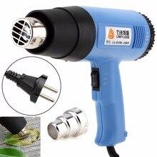 Wysokiej jakości AC220V ue wtyczka/110V US 1500W regulacja temperatury elektryczny opalarka wielofunkcyjny ręczny pistolet Hotair