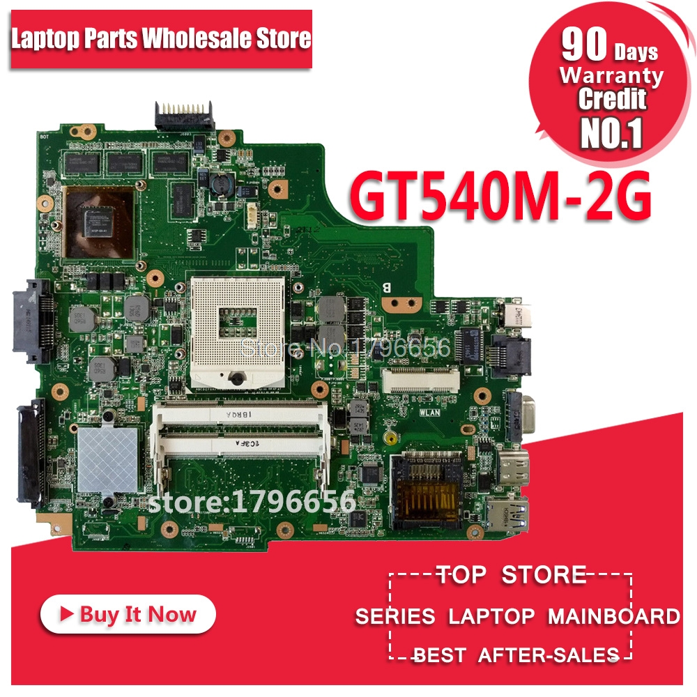 K43SV Motherboard 2GB-GTX540M For ASUS A43S X43S K43S A43SJ K43SV laptop Motherboard K43SV Mainboard K43SV Motherboard used for asus k43sv k43s k43sj a43s a84s x43s k43sm laptop motherboard rev 4 1 usb3 0 gt540m 2gb mainboard fully tested