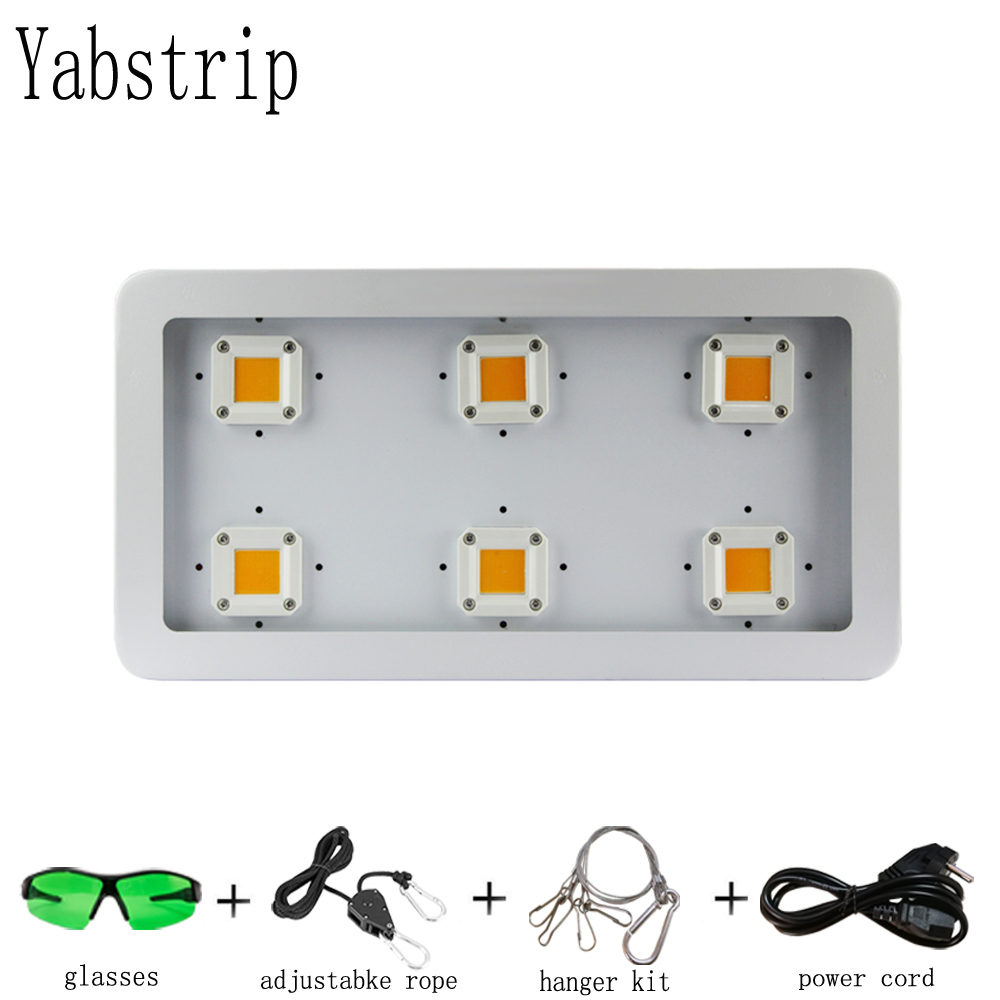 Yabstrip Super Bright Energy Saving Light Efficient LED Grow Light 1800W For Plants Growing COB Led Grow Lamp Panel Light