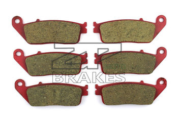 Motorcycle Brake Pads For HONDA 1500 GL 1997-2003 Front + Rear OEM New Carbon Ceramic Composite High Quality ZPMOTO