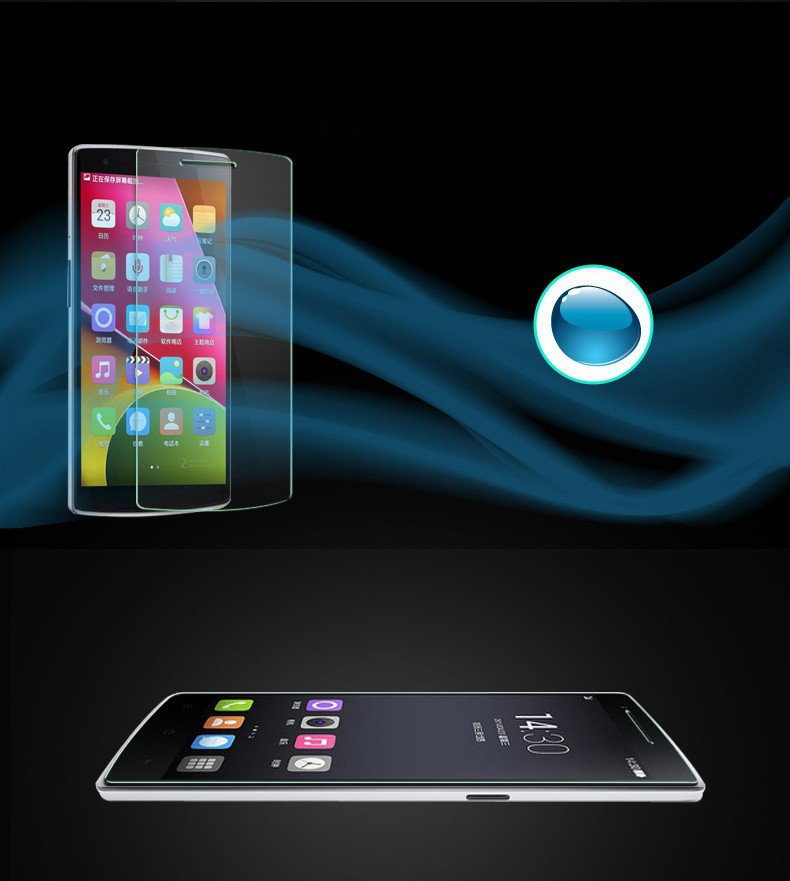 2PCS Screen Protector Oneplus One Glass Tempered Glass For Oneplus One Glass Anti scratch Phone Film For Oneplus 1 HATOLY in Phone Screen Protectors from Cellphones Telecommunications