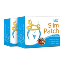 MQ Brand 60pcs/2box Slim Patch Navel Stick Magnetic Slimming Patches Weight Loss Burning F