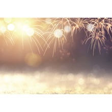 Laeacco Fireworks Light Bokeh Backgrounds Dreamlike Party Celebration Photographic Scenic Photography Backdrops For Photo Studio