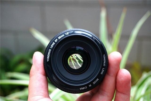 Ready Stock ! For Canon Camera Lens 35mm Large Aperture Auto Focus Lens for Canon EOS 5DII 5D 500D 400D 650D 600D 450D 60D 7D