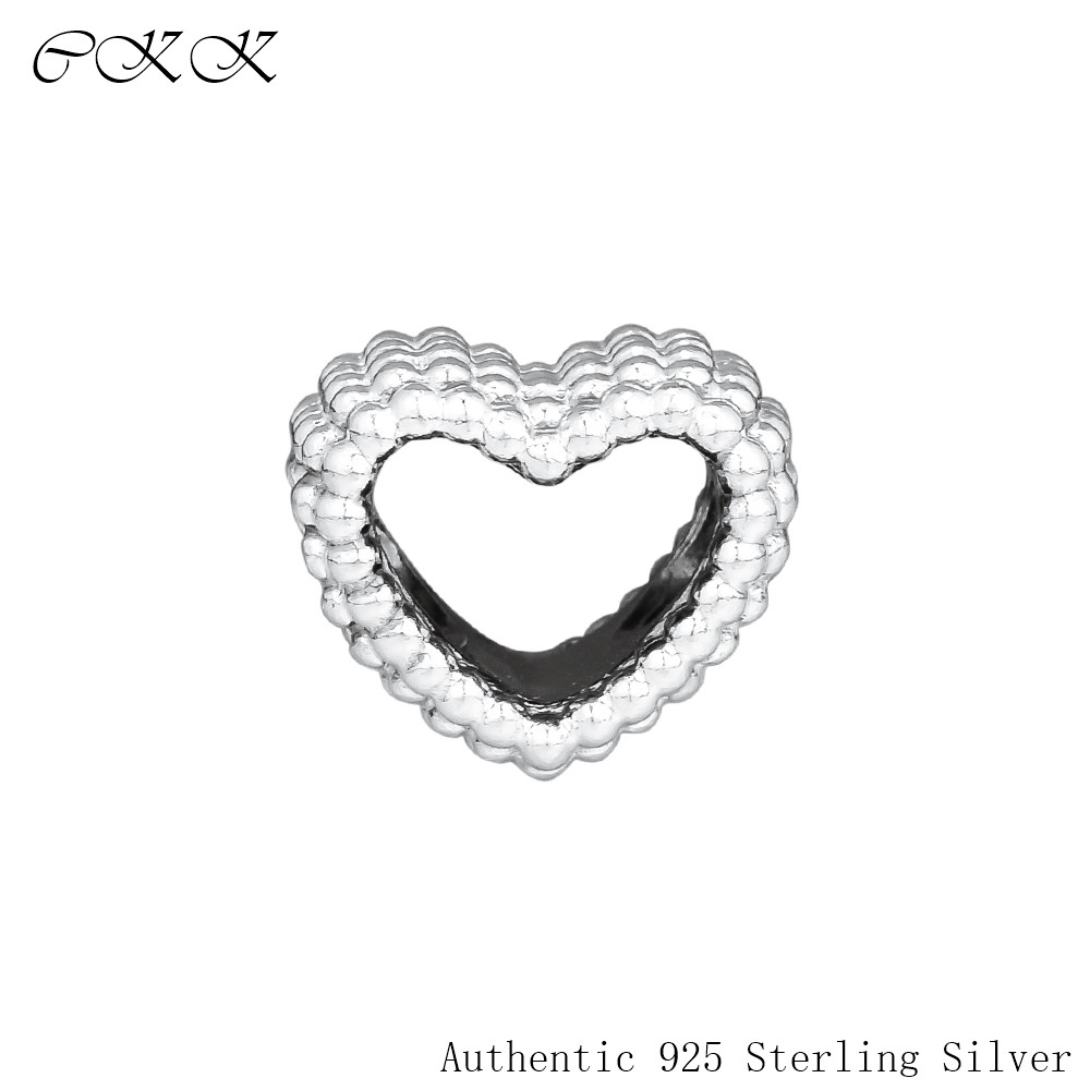 Fit Pandora Bracelet DIY Heart Charm 100% 925 Sterling Silver Original Beads for Jewelry Making Free Shipping PF874Fit Pandora Bracelet DIY Heart Charm 100% 925 Sterling Silver Original Beads for Jewelry Making Free Shipping PF874