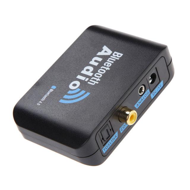 Caliente venta Bluetooth 4.0 de la música receptor de Audio inalámbrico Digital Coaxial óptica adaptador alta calidad