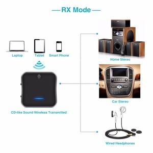 Image 5 - B19 AptX HD krótki czas oczekiwania Bluetooth 5.0 nadajnik i odbiornik Audio muzyka CSR8675 TV PC Adapter bezprzewodowy RCA/SPDIF/3.5mm Aux Jack