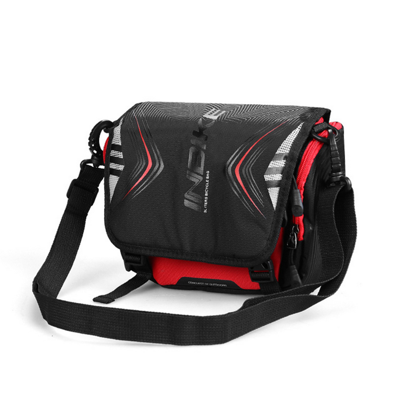 Bicycle Bike Front Tube Bag Waterproof Handlebar Pack Shoulder Large Bag Cycling Front Frame Pannier Bicycle Accessories