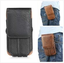 For AGM X1 5.5inch Phone Bag Case waist bag Pedestrian Series Verticality Wallet Pouch Belt Clip Case Holster