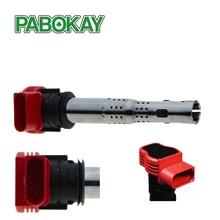FS Replacing Car Ignition Coil Types 06E905115D 06E905115E Coils For VW VAG Audi 06E905115 A B C D E 06E 905 115D цена