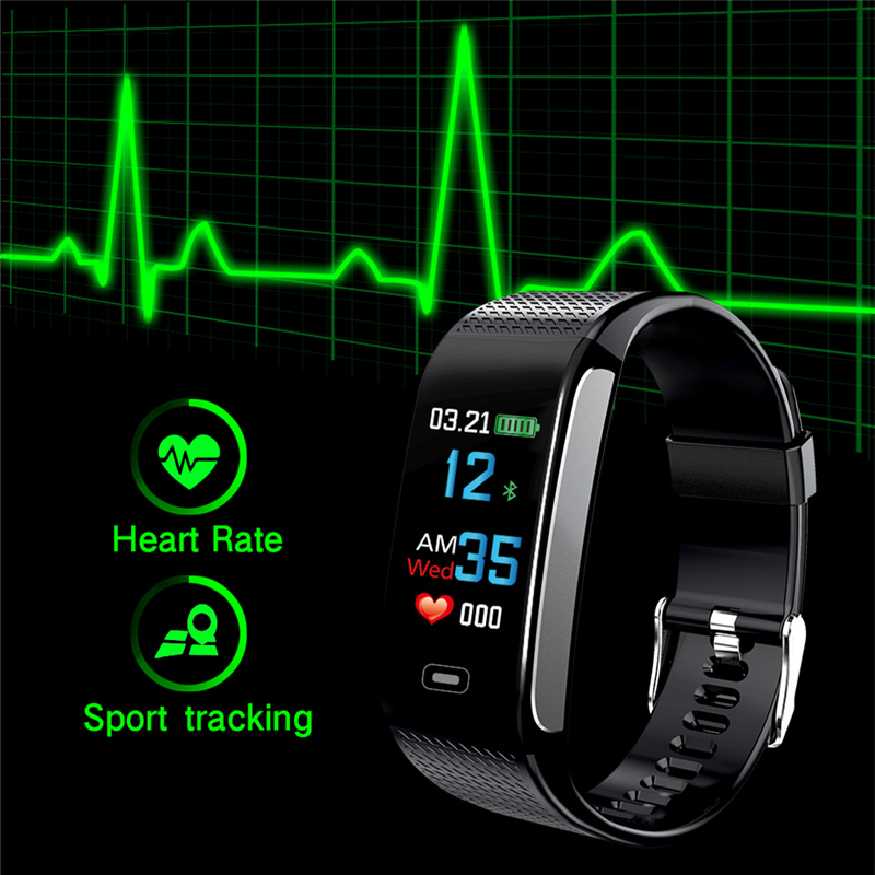 Sports Watch Heart Rate Blood Pressure Health Monitoring 1