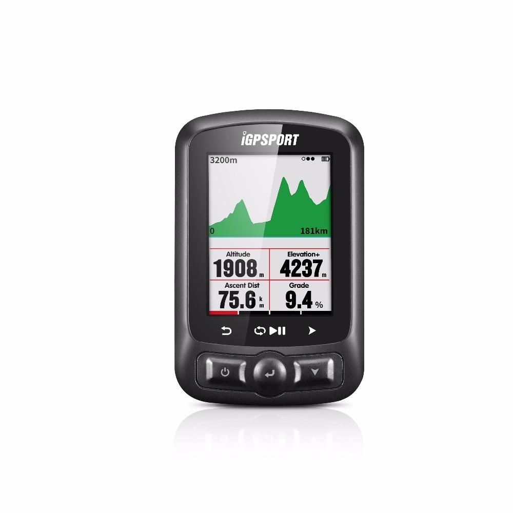 Couleur Écran gps ordinateur de Vélo iGS618 iGPSPORT gps tracker vélo navigation Compteur De Vitesse IPX7 3000 heures de stockage de données