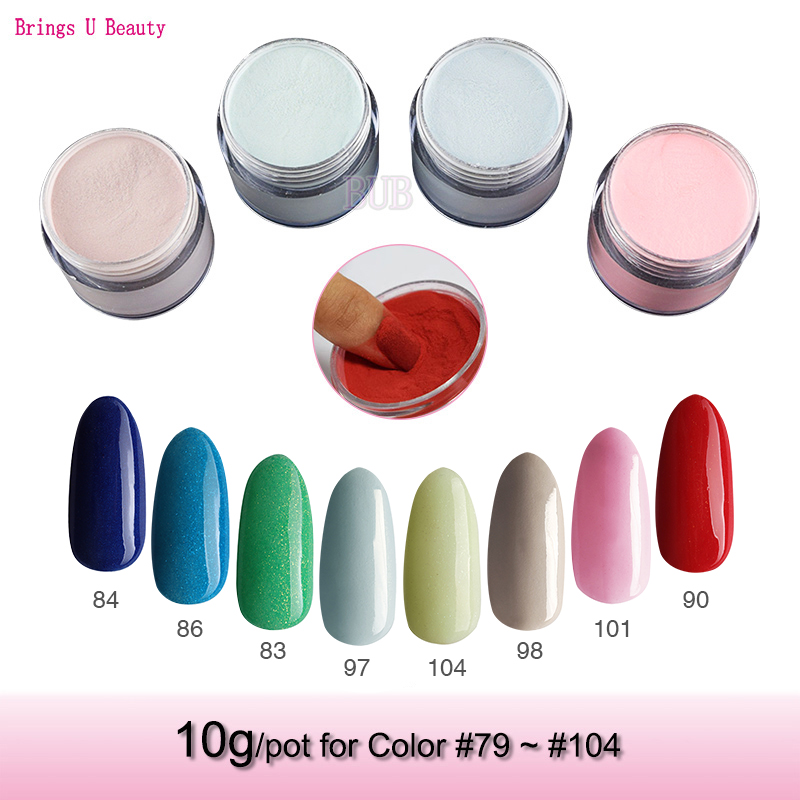 Dynamic Views Very Beautiful And Preity Nails Art Red: Very Fine 10g/Box Dipping Powder Without Lamp Cure Nails