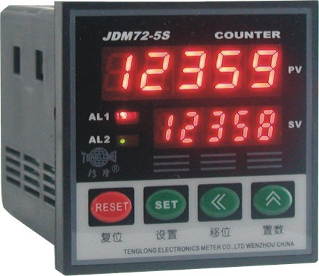Intelligent Counting meter counter JDM72-5S ews ac100 250v electromechanical hour meter counter