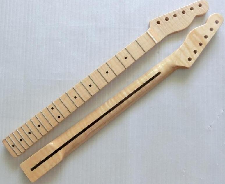 21 fret one pcs wood tiger flame material canadian maple electric guitar neck wholesale guitar. Black Bedroom Furniture Sets. Home Design Ideas