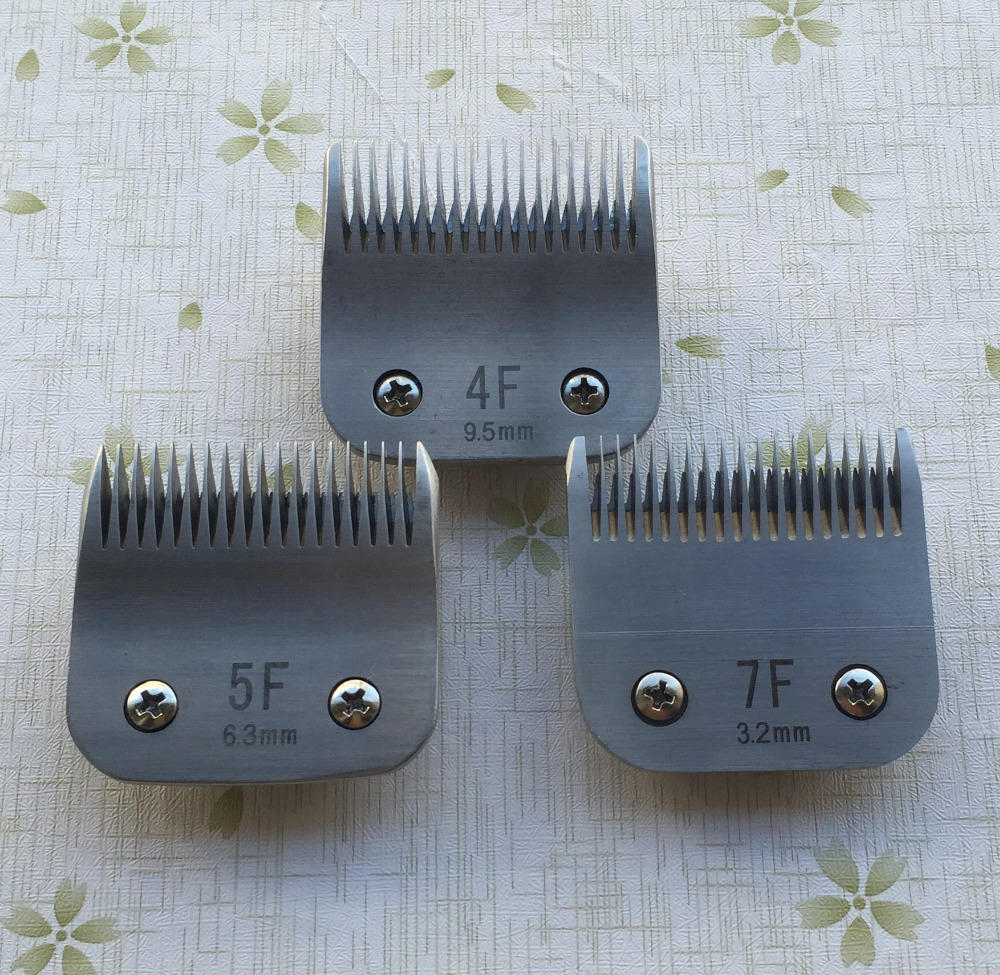 4F 5F 7F Professional Dog clipper blade fit most Andis and Oster clippers