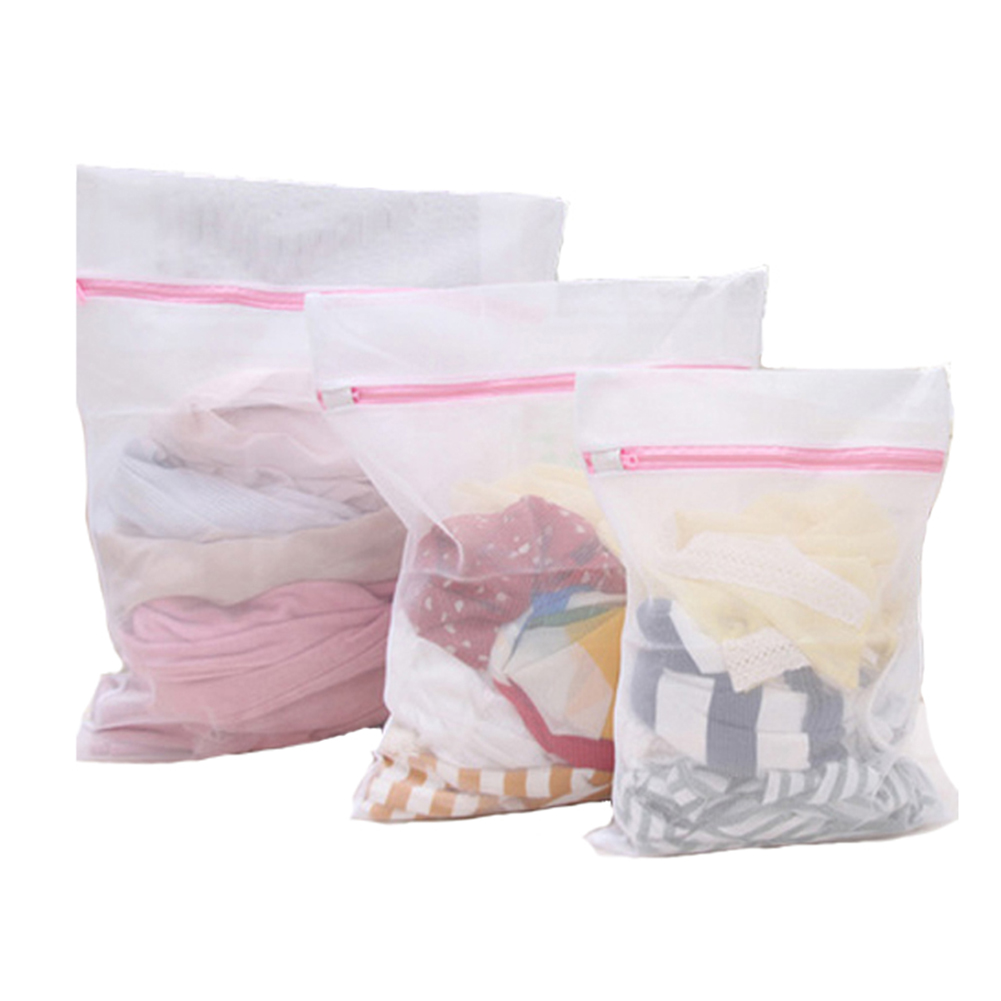 3pcs/set Laundry Basket Laundry Bags Dirty Clothes Bag Underwear Bra Clothes Organizer Washing Bag Laundry Pouch Household Tools