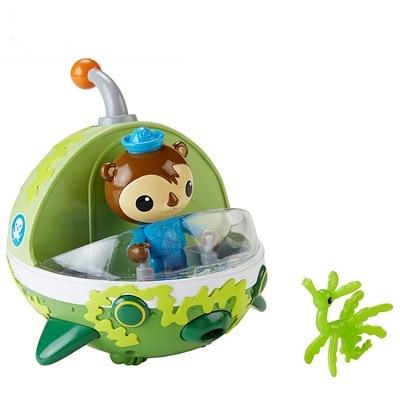 original NEW STYLE  Octonauts GUP-E resure explore vehicle figures toy birthday gift - child Toys