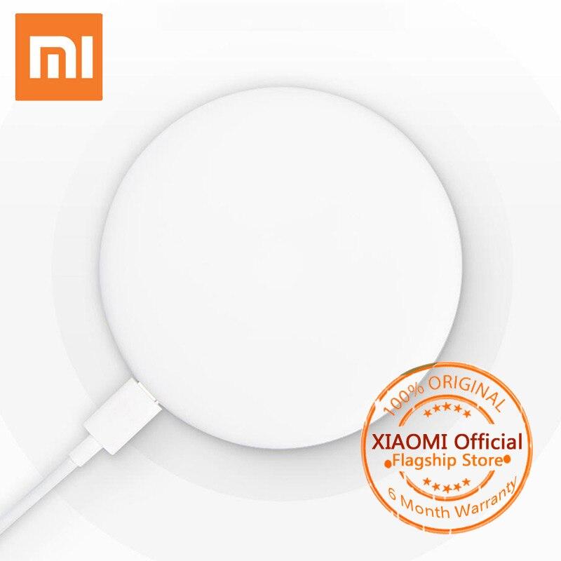 D'origine Xiaomi Sans Fil Chargeur Qi Standard Rapide Charge Rapide Chargeur pour Mi de MÉLANGE 2 S iPhone X 8 plus Sumsung S8 USB Chargeur Pad