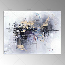 Cheap High Quality 100%Handmade Abstract Color Oil Painting On Canvas  Modern Abstract Canvas Art