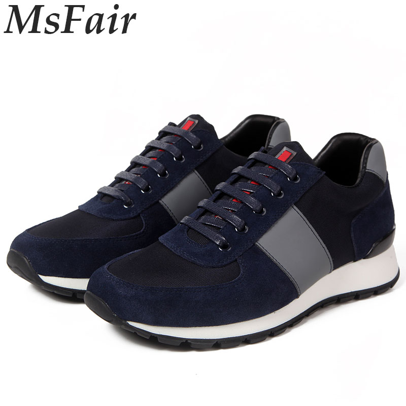 MSFAIR 2018 New Men Running Shoes Walking Shoes Sport Shoes For Men Super Light Men Sneakers Brand Sports Run Outdoor jogging 2016 sale hard court medium b m running shoes new men sneakers man genuine outdoor sports flat run walking jogging trendy