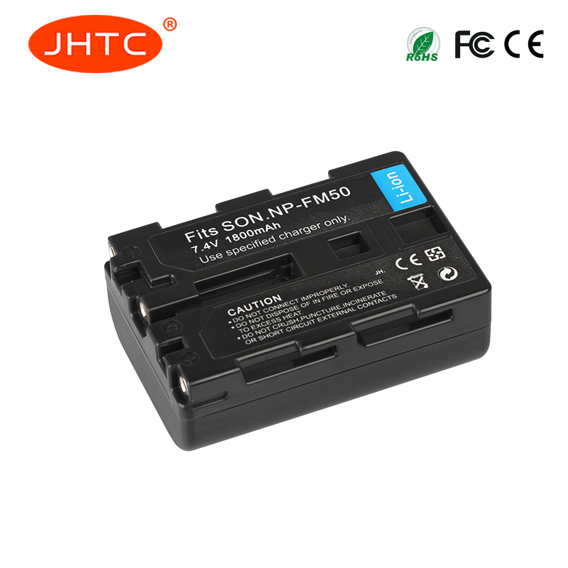 JHTC 1800mAh NP-FM50 NP FM50 FM55H Batteries Pack For Sony NP-FM51 NP-FM30 NP-FM55H DCR-PC101 A100 Series DSLR-A100 BatteriesJHTC 1800mAh NP-FM50 NP FM50 FM55H Batteries Pack For Sony NP-FM51 NP-FM30 NP-FM55H DCR-PC101 A100 Series DSLR-A100 Batteries