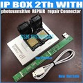 IPBox V2 caja IP 2th NAND PCIE 2in1 de alta velocidad programador fotosensible repairConnector + para iP7 Plus/7 /6 S/6 más/5S/5C/5
