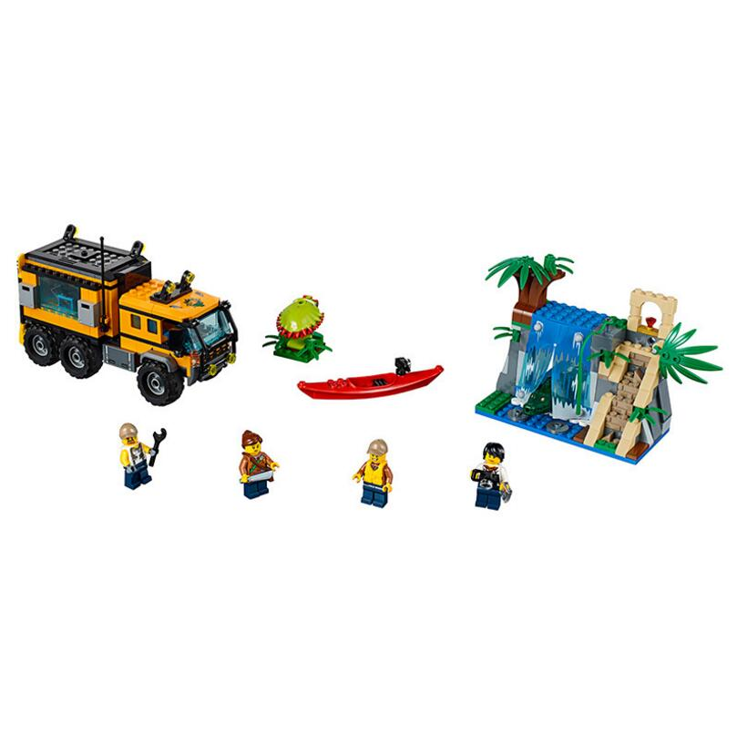 Lepin 60160 City Series Jungle Cargo Helicopter DIY Educational Building Blocks Bricks Children Christmas Toys 02080 hot sale 1000g dynamic amazing diy educational toys no mess indoor magic play sand children toys mars space sand