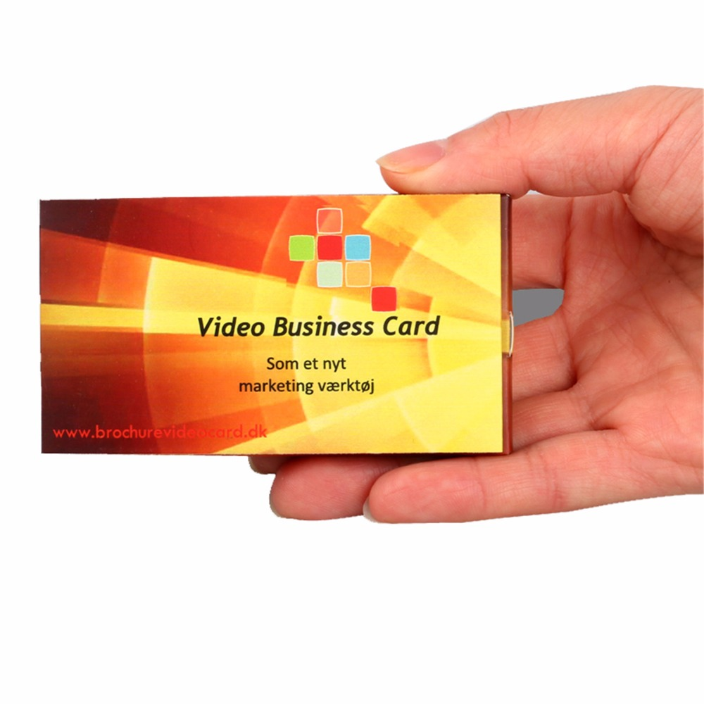 Design Production Customize 24 Inch Business Video Brochure Video