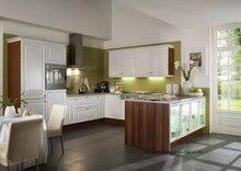 PVC/vinyl kitchen cabinet(LH-PV070)